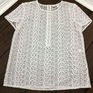💟 Chic DVF Lace Top!
